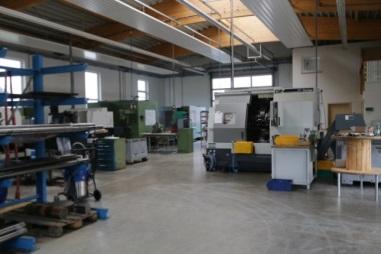 Erweiterung der Produktionsfläche um 250m²